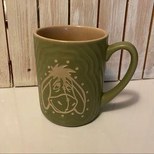 Disney Parks Green Eeyore Coffee Cup Mug